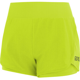 GORE WEAR R7 Running Shorts Women green